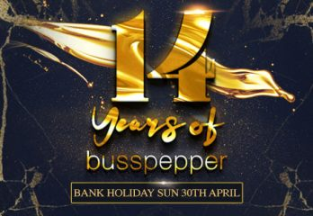 Busspepper 14th Anniversary