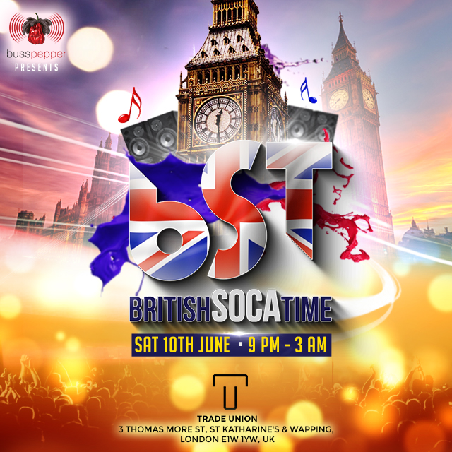 British Soca Time - 10.06.2017