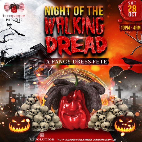 Night of the Walking Dread. Busspepper Halloween Prty