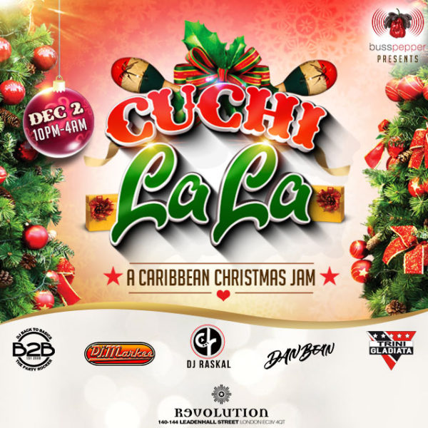 Cuchi La La Caribbean Christmas Party in London